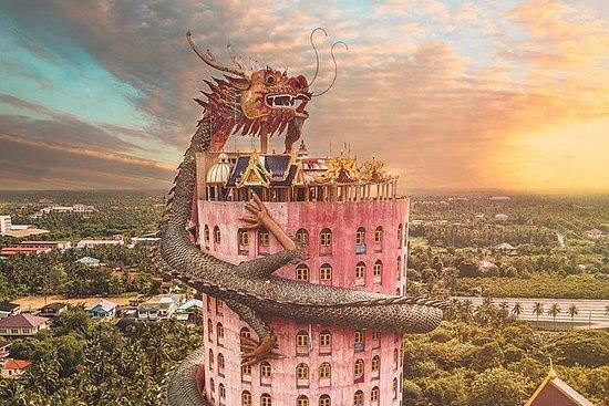 Increíble Templo del Dragón, Mercado...