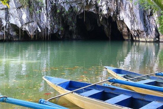 Tour del fiume sotterraneo dell'UNESCO a Puerto Princesa con pranzo