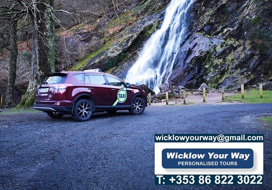 Greystones, Ireland: Wicklow Your Way at Powerscourt Waterfall