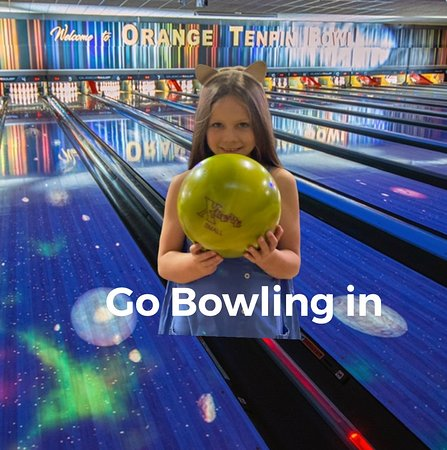 Orange Tenpin Bowl