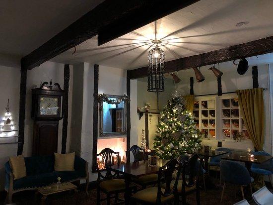 Christmas Bar Area