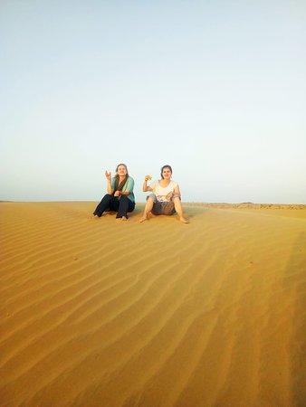 Enjoy sunset in Thar Desert