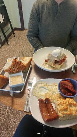 Biscuits, Gravy and Bacon Oh my!