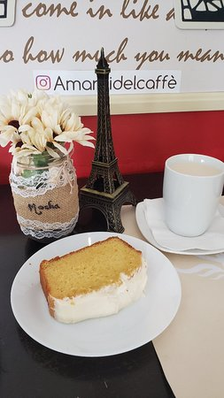 Couva, Тринидад: Coffee and cake