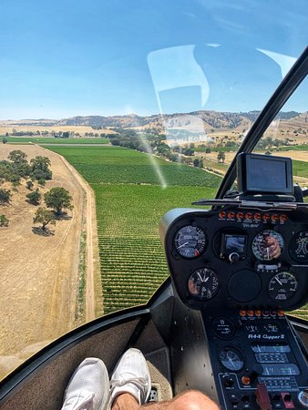Southern Barossa: 10-Minute Helicopter Flight: Views over vineyards