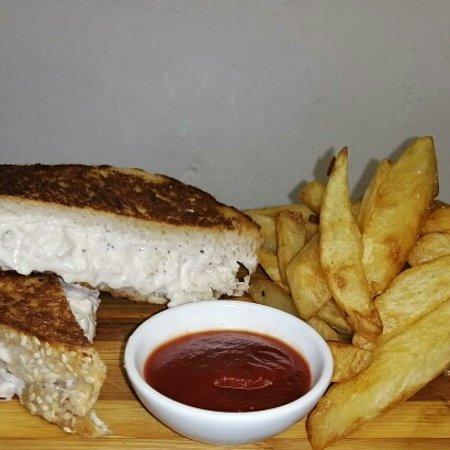 Glencairn, Južna Afrika: Chicken & roast veggies wrap
