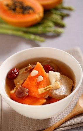 Stewed Pork Soup with Papaya