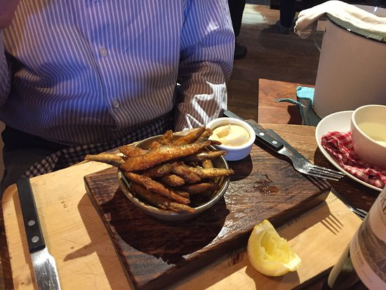 Clipsham, UK: Whitebait