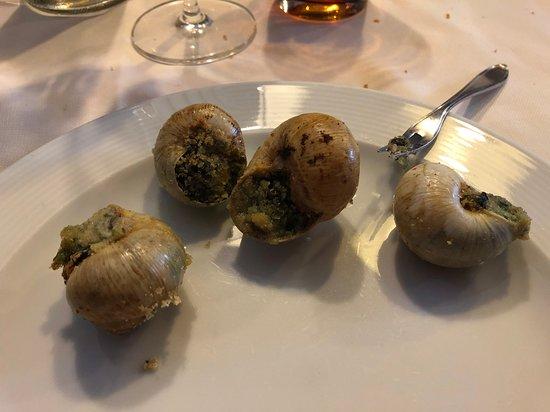 Pomponesco, Italy: Lumache!