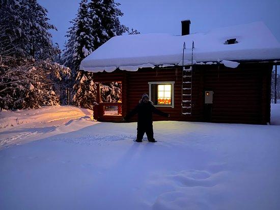 Pyha, Finland: Cabaña