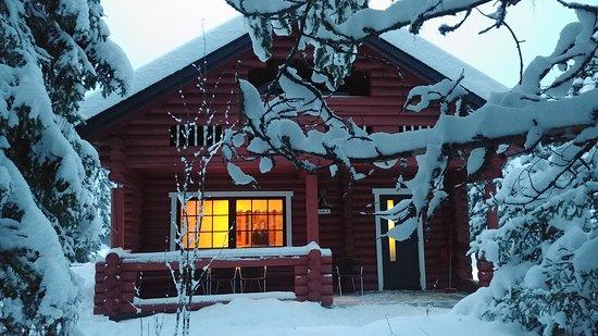 Pyha, Finland: Cabaña donde nos alojábamos