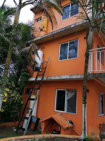 Hotel Marparaiso, La Vigueta, Costa Esmeralda, Veracruz, México.