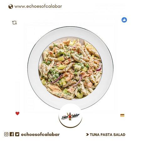 Tuna Pasta Salad - Echoes of Calabar