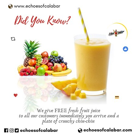 Did You Know? #Fruits - Echoes of Calabar