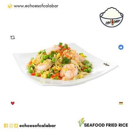 SeaFood Fried Rice - Echoes of Calabar