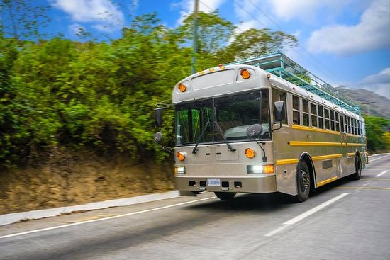 Shuttle Bus from Antigua to Guatemala City