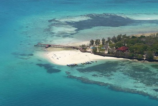 Stone Town et Prison Island au départ...