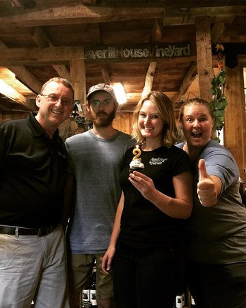 Brookline, NH: Bob, Jake, Beth and Steph thank you for celebrating our two year anniversary!