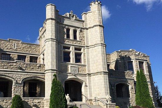 Tour storico del castello di Pythian a Springfield nel Missouri