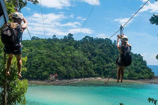 Marine Park and Coral Flyer Zipline...