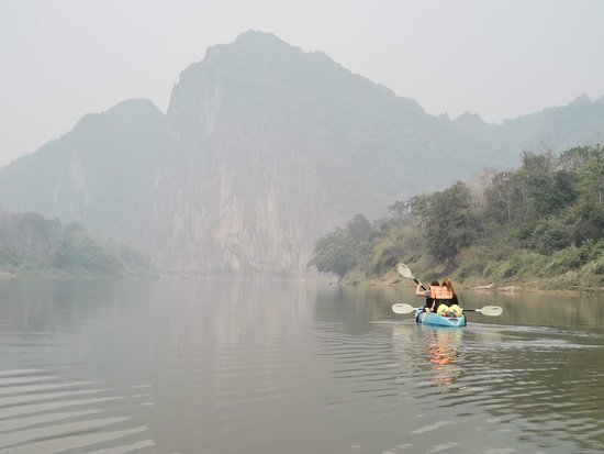 Bliss on the Nam Ou River