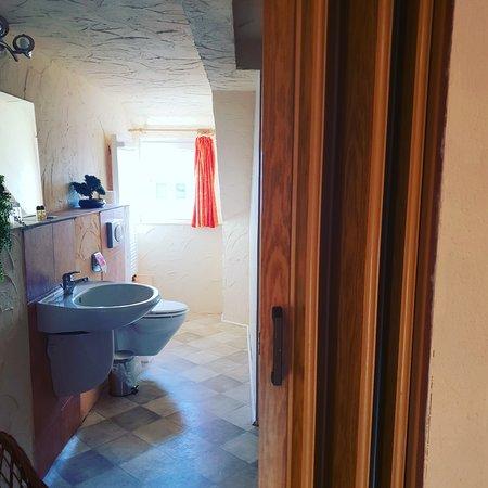 Steinigtwolmsdorf, Германия: Dusche und  WC