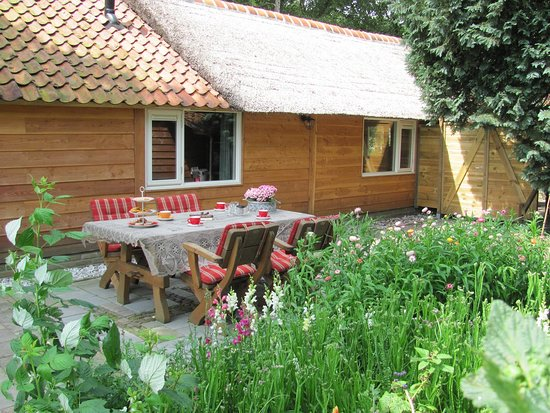 Mantinge, The Netherlands: At your stay you can use the terras in the garden