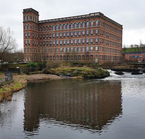 Paisley, UK: Anchor Mills