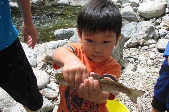 Esperienza di cattura del pesce di fiume