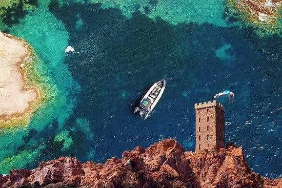 Bootsfahrt - Die Buchten von Estérel