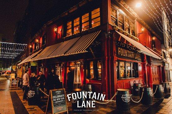 Fountain Lane Belfast City Centre Menu Prices