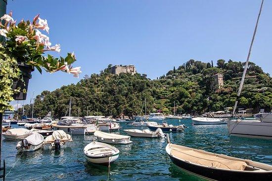 ボート乗りでジェノヴァからポルトフィーノとサンタマルゲリータ小グループツアー