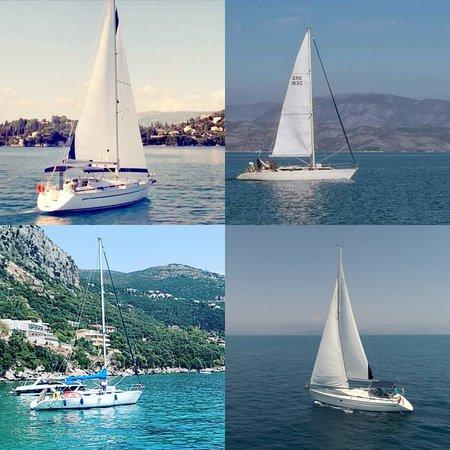 Gouvia, Yunanistan: Balos yachts Corfu - Private cruises - unique trips - unforgettable sail yacht experiences