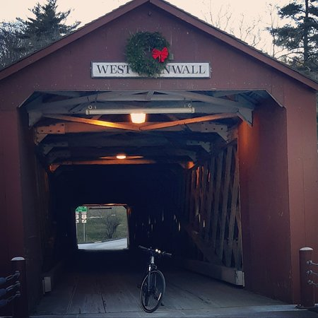 Just 90 feet from the West Cornwall Covered Bridge to our store.