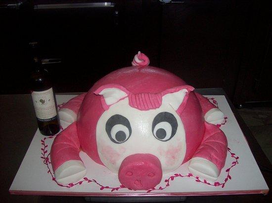 Excellent Toyrta Genethliwn Elefantas Elephant Birthday Cake Gateau D Funny Birthday Cards Online Overcheapnameinfo