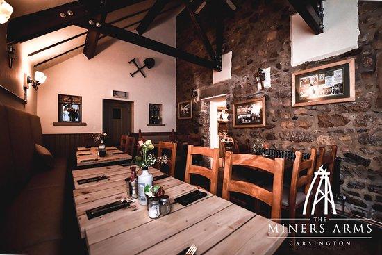 Carsington, UK: restaurant