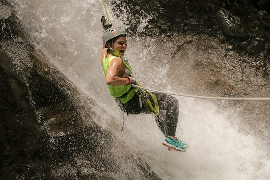 Canyoning Zipline and Jumping Spider