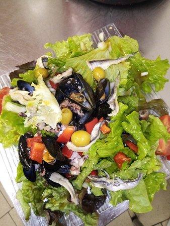 Ruffiac, Франция: salade de la mer