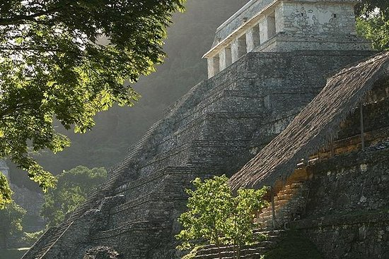 Palenque Archaeological Site from Villahermosa