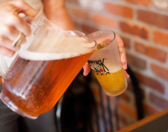 Woodstock's Pizza Isla Vista: Enjoy our amazing draft beer list.