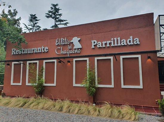 Cerrillos, Argentina: Frente del restaurante