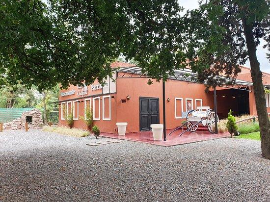Cerrillos, Argentina: Acceso al restaurante