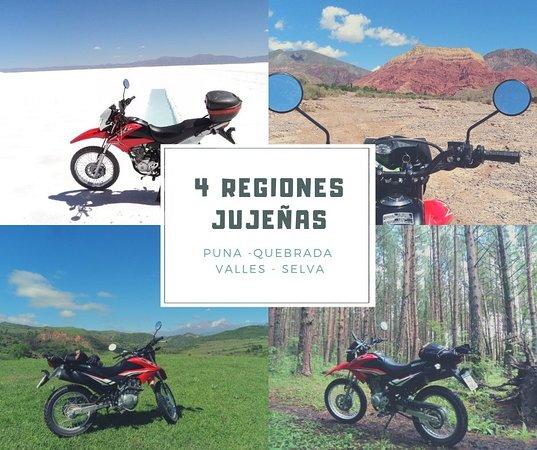 San Salvador de Jujuy, Argentina: Renta una moto en Jujuy para recorrer las 4 regiones. vivi la mejor aventura.