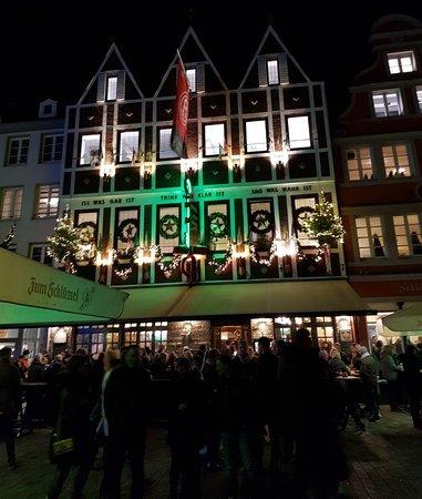 Hausbrauerei Zum Schlussel along Bölkerstraße