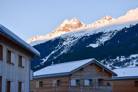 Breil/Brigels, Schweiz: Aussicht