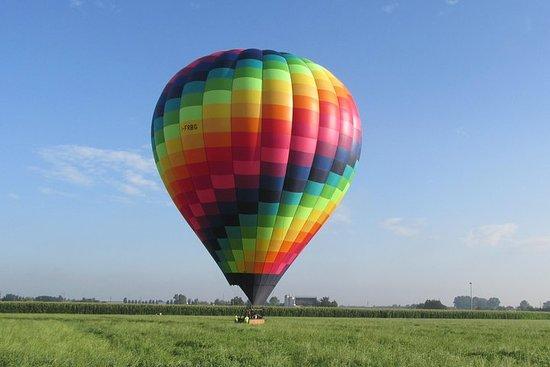 Milan hot air balloon flight Monday-Friday morning