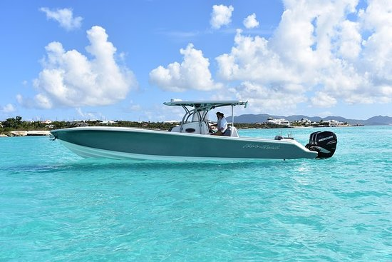 Full Day Private Charter - Anguilla - Speedboat