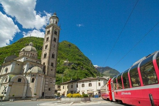 Bernina-trein en St. Moritz-dagtour
