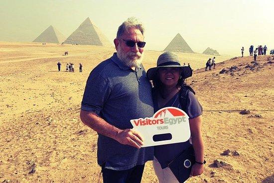 Dagstur til pyramidene og Det egyptiske...