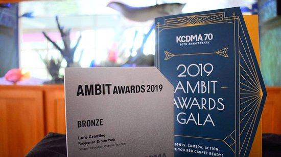 Kansas: Ambit Web Design awards